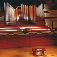 Bethel University, St. Paul, MN - organ built by Lyle Blackinton